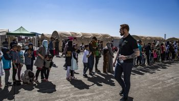 Our Experience: On The Ground with Afghan Evacuees