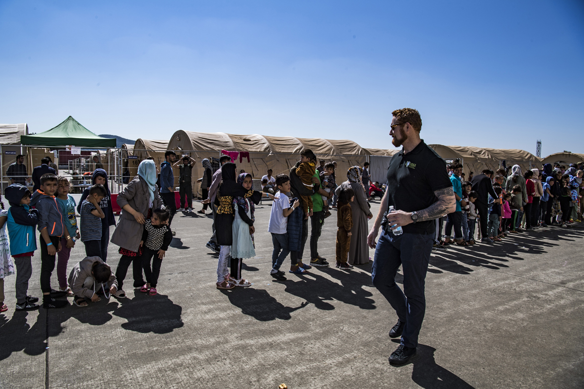 You are currently viewing Our Experience: On The Ground with Afghan Evacuees