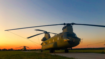 New and Improved Chinook Helicopters for U.S. Special Operations Command