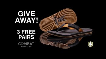 Win a Pair of Combat Flip Flops!