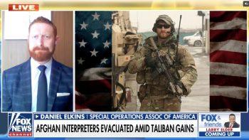 Daniel Elkins on Fox News: Airlift of Afghans