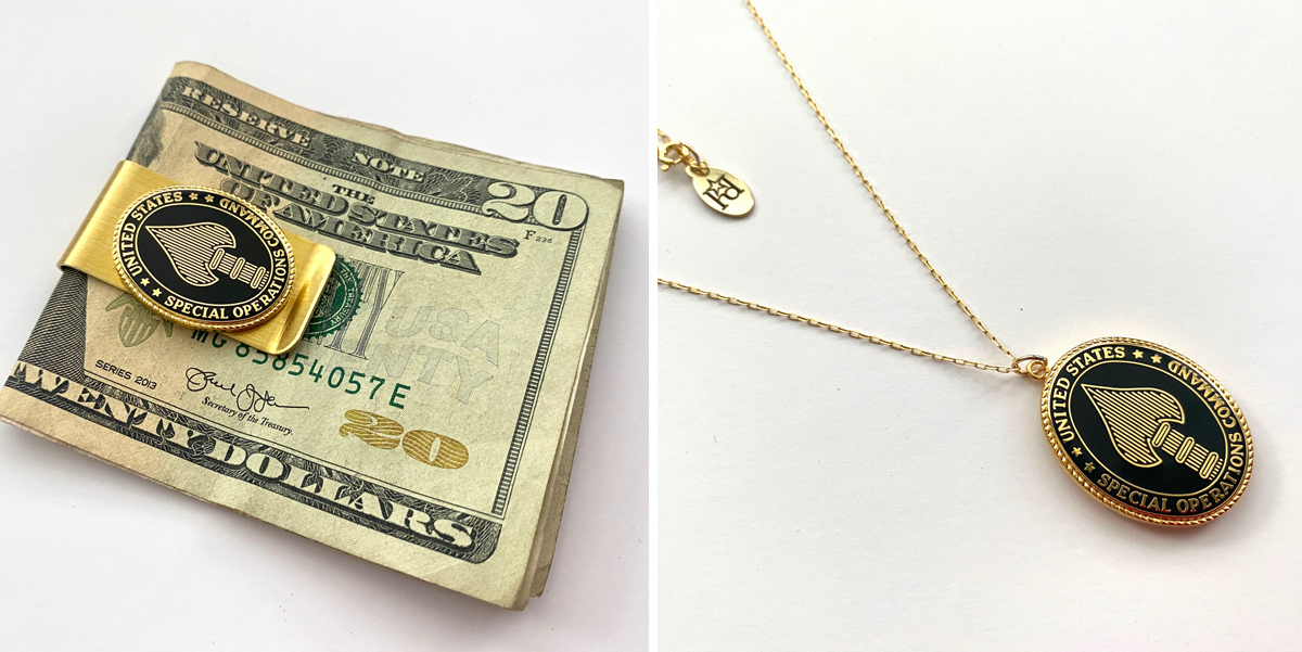 Win a Custom Money Clip and Necklace Set by Hope Design!