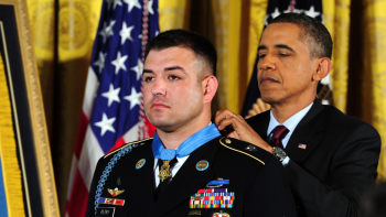 Army Ranger Who Saved Lives in Battle Continues to Give Back to Veterans