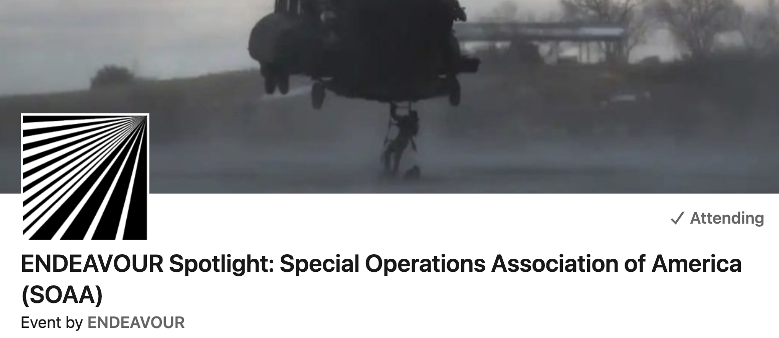 You are currently viewing Critical Issues Facing SOF Members: Webinar